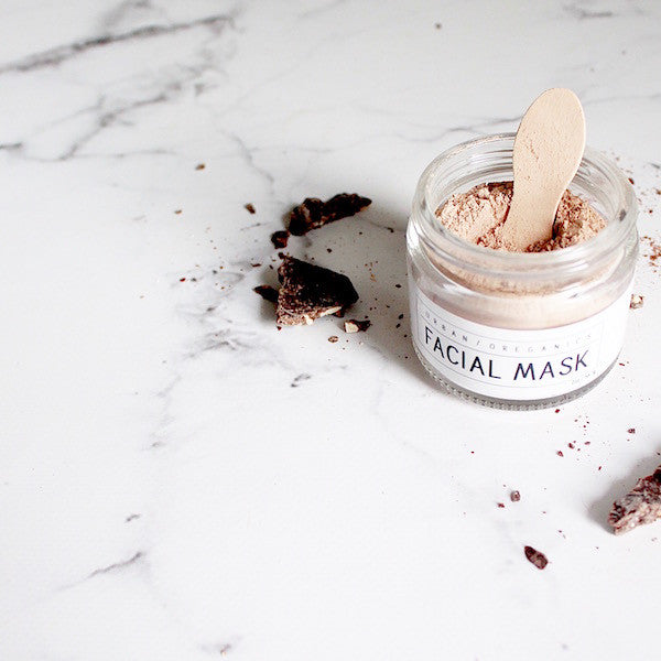 FACIAL MASK: RAW CACAO - Urban Oreganics