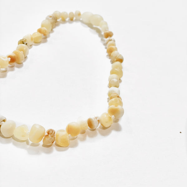 CHILD BALTIC AMBER TEETHING NECKLACE