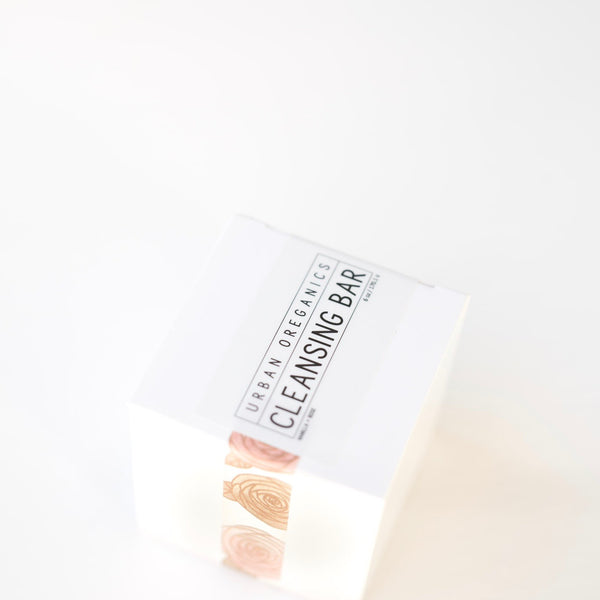 CLEANSING BAR: VANILLA + ROSE