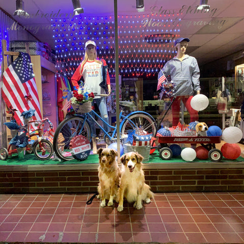 Store Front with Daisy & Sage