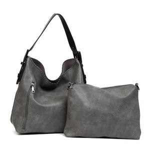 BW - Alexa 2 in 1 Conceal Carry Hobo Bag