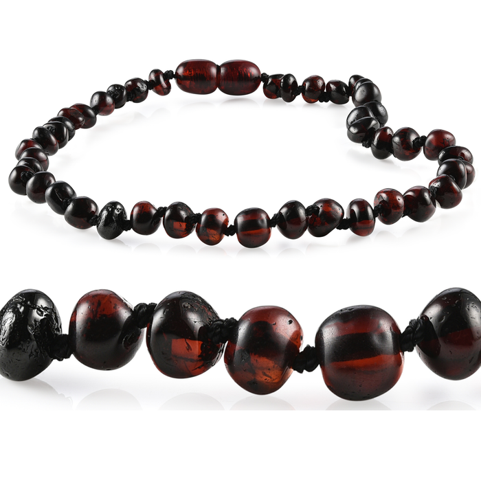 RBA - Grow With Me Baltic Amber Necklace Sets - Cherry