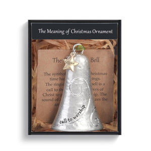 DEM - Christmas Ornament - Meaning of Christmas Bell