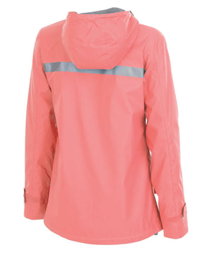 5099 Rainjacket - Bright Coral