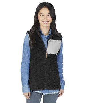 5974 Newport Vest - Black/Grey