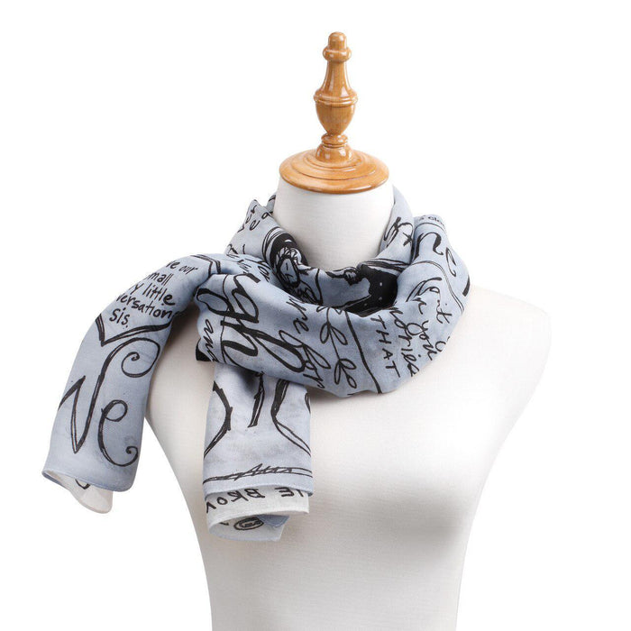 DEM - Scarf - Blue Ombre Rectangle Scarf - Sister from Poetic Threads