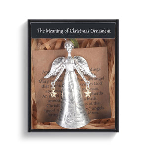 DEM - Christmas Ornament - Meaning of Christmas Angel