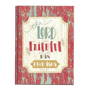 Journal - The Lord is Faithful