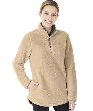 CR 5876 Newport Fleece Pullover - Sand