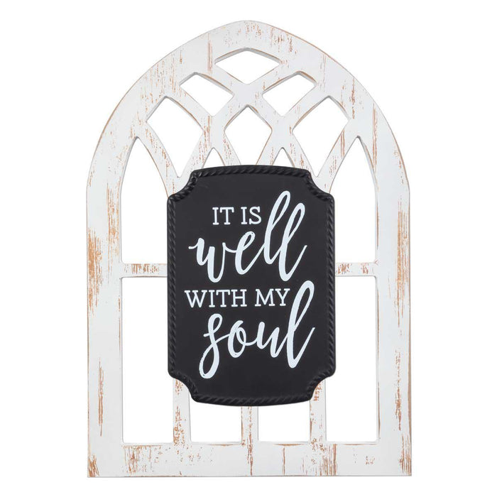 BG - Arched Sign - It Is Well