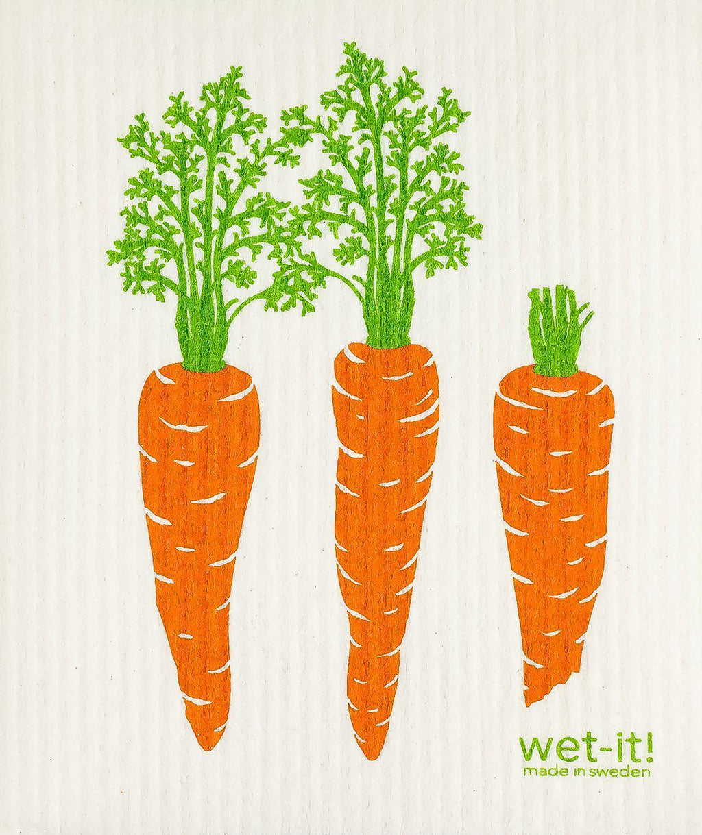 WI - Wet-It! Swedish Cloth - Carrots by Row