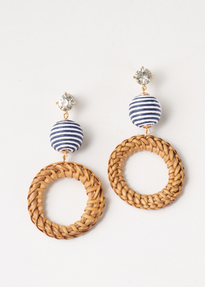 SN - Simply Noelle Nautical Circle Earring