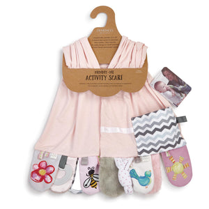 Activity Scarf - Mommy & Me Pink