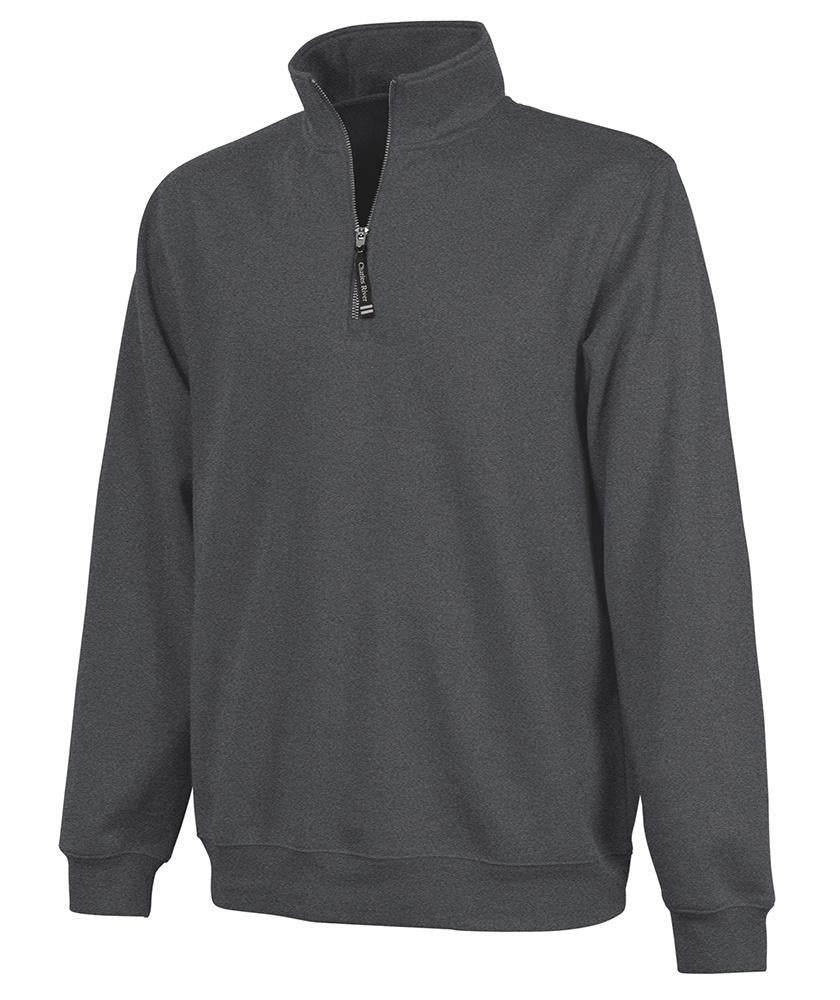 CR 9359 Crosswind Qtr Zip Sweatshirt - Dark Charcoal