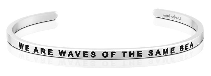 MB - Bracelet - We Are Waves Of The Same Sea