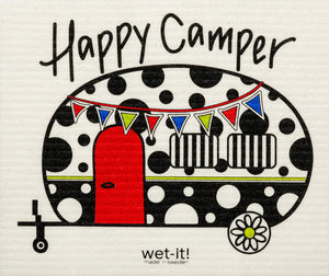 WI - Wet-It! Swedish Cloth - Happy Camper
