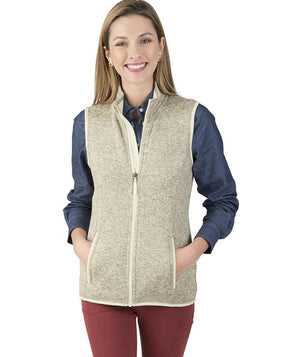 CR 5722 Pacific Heathered Vest - Oatmeal