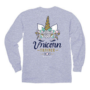 Itsa - YOUTH LONG SLEEVE - Unicorn Trainer - Sports Grey