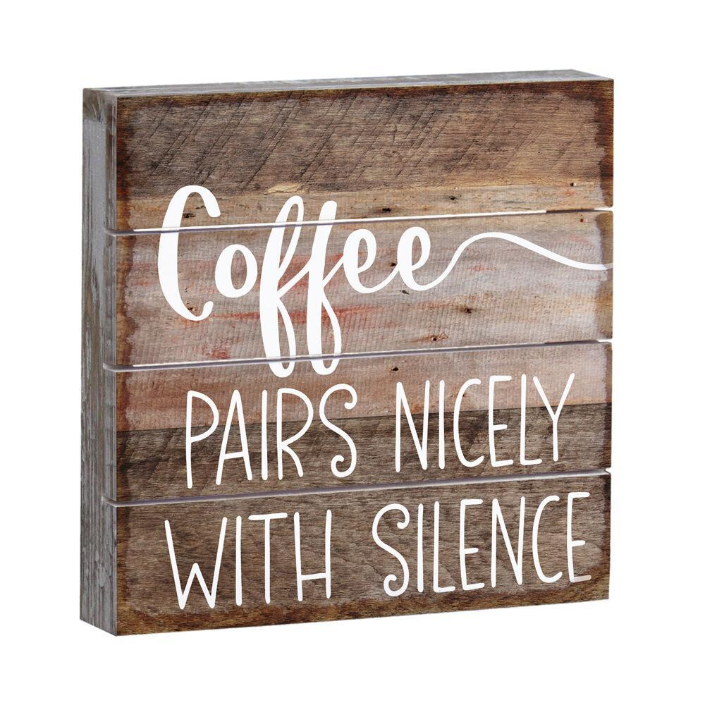 Coffee Pairs Nicely with Silence