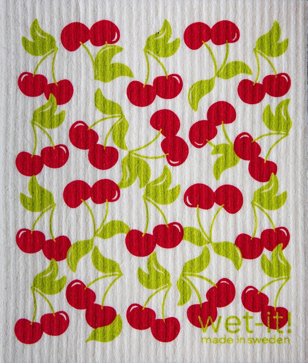 Wet-It! Swedish Cloth - Sweet Cherry