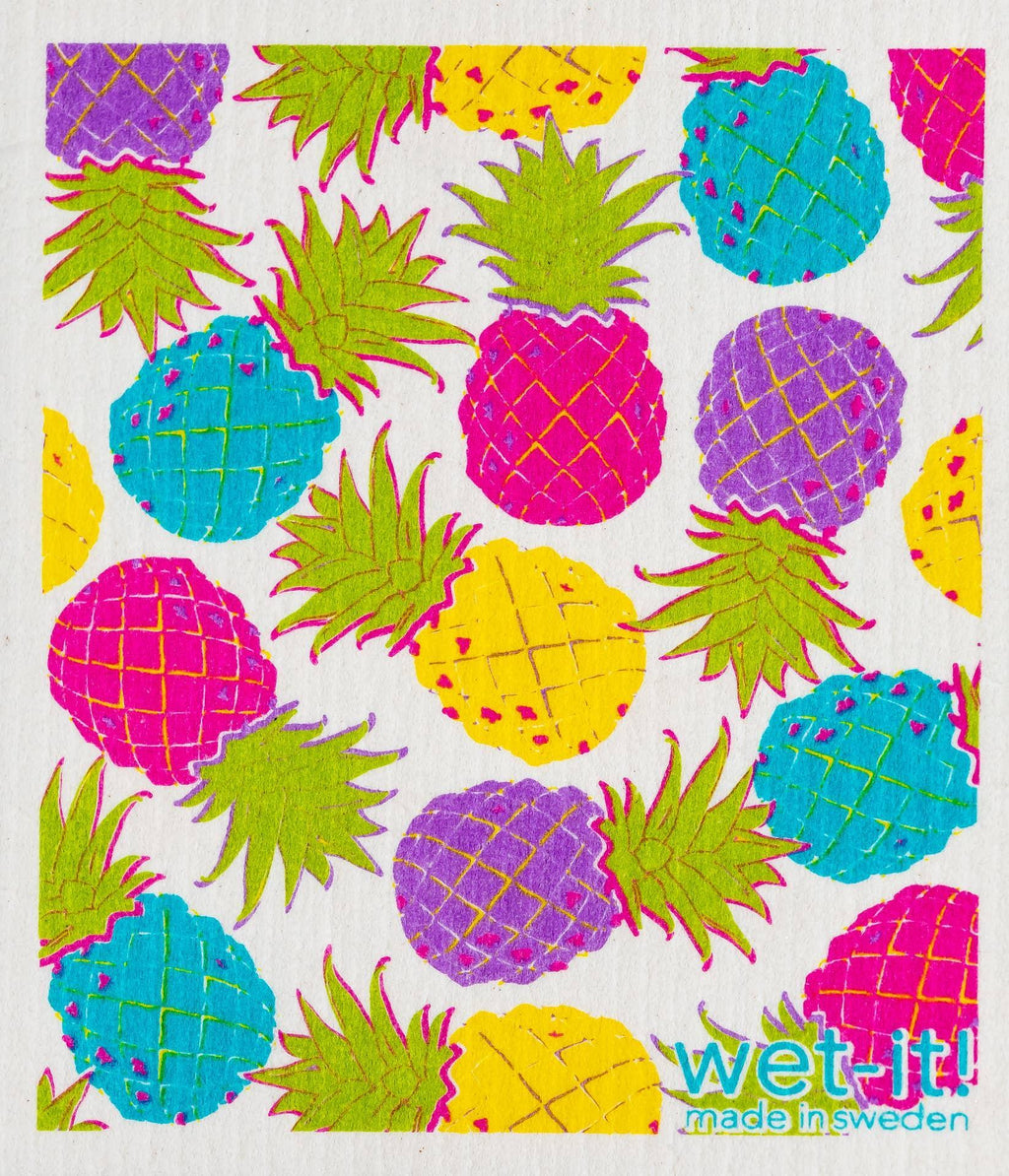 Wet-It! Swedish Cloth - Hawaiian Pineapple