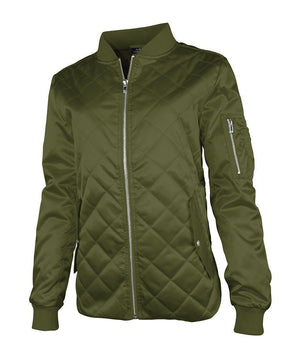 Quilted Boston Jacket 5027 - Olive