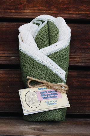 "C-Ctn - Cotton Dishcloths 11"" x 11"""