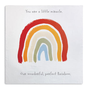 Photo Swaddle - Rainbow Baby