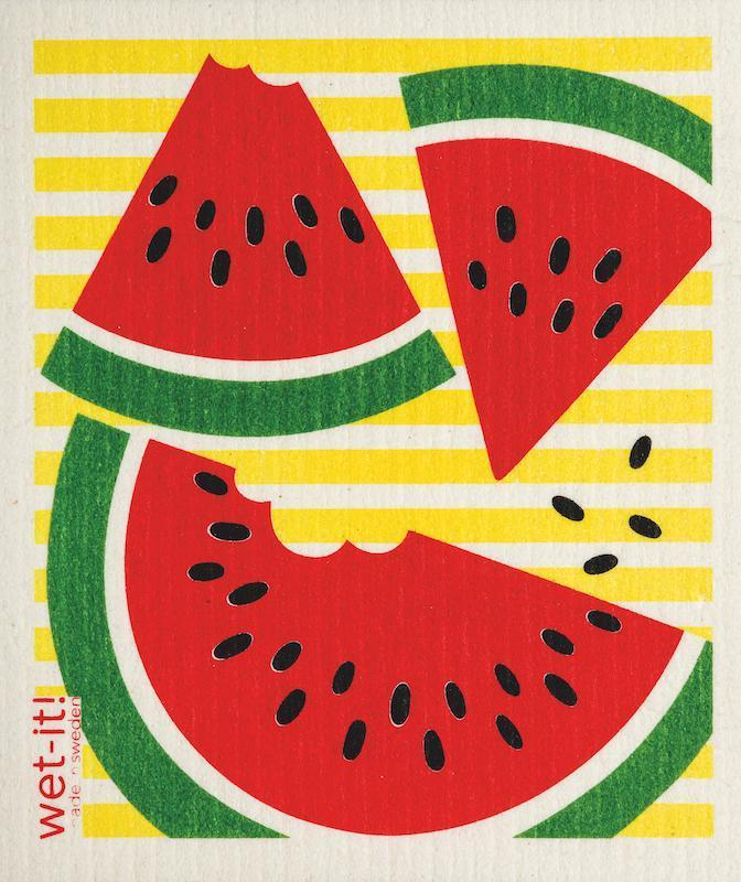 Wet-It! Swedish Cloth - Watermelon Slices