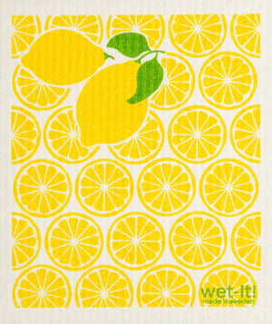 Wet-It! Swedish Cloth - Lemonade