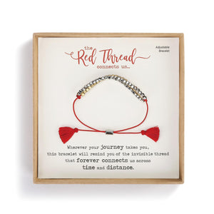 DEM - Bracelet - Red Thread