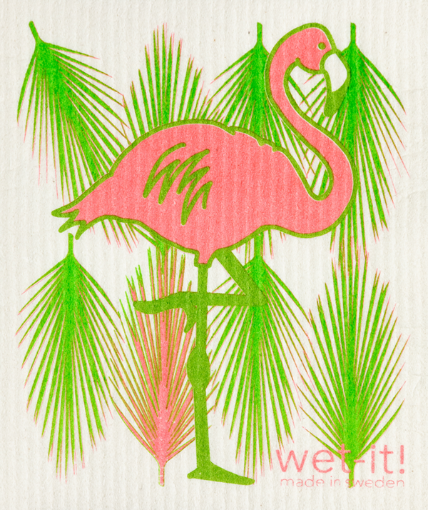 WI - Wet-It! Swedish Cloth - Flamingo
