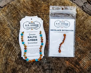 RBA - Grow With Me Baltic Amber Necklace Sets - Cherry Chakra