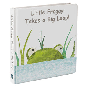"Board Book - Little Froggy Takes a Big Leap! - 8"" x 8"""