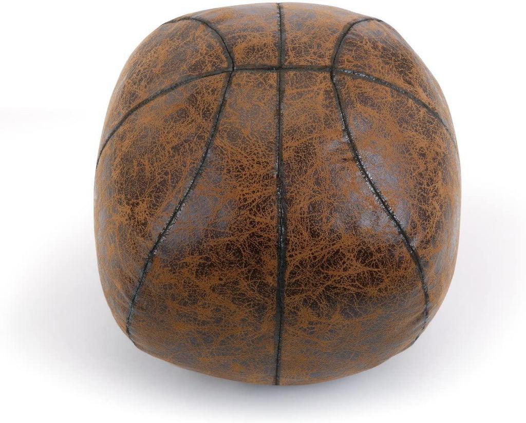 Door Stop - Faux Leather Basketball