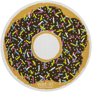 Wet-It! Rounds Swedish Cloth - Donut