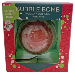 TSS - Christmas Squishy Surprise Bubble Bath Bomb - Boxed