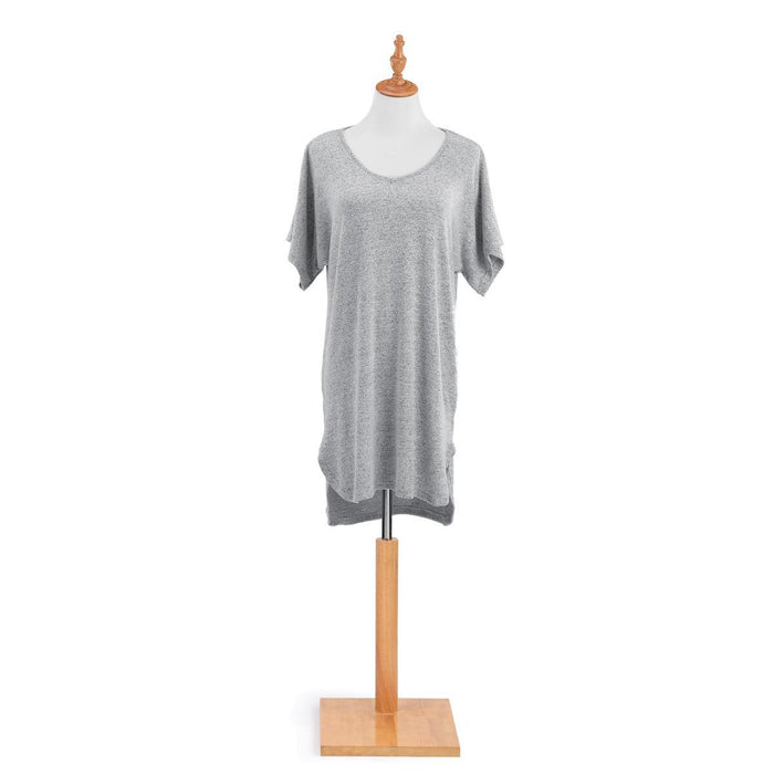 DEM - Long Lounge Shirt - Dove Gray