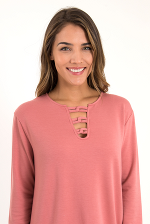 SN - Simply Noelle Drop And Give Me Zen Pullover - Large/XLarge (12-14)