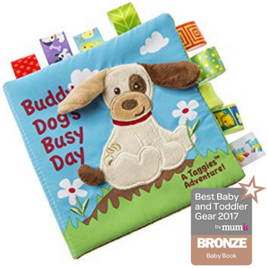 "M-M - Taggies Buddy Dog Soft Book - 6"" x 6"""