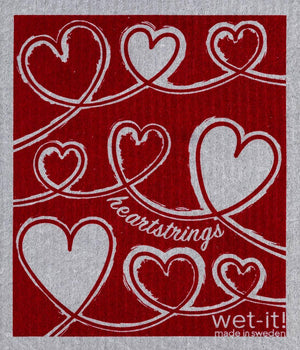 Wet-It! Swedish Cloth - Heartstrings