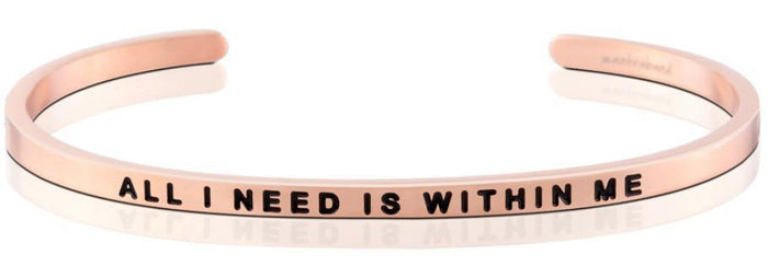 MB - Bracelet - All I Need Is Within Me