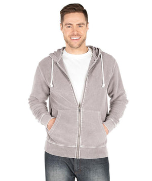 Camden Full Zip Hoodie Sweatshirt 9037 - Dusty Lilac