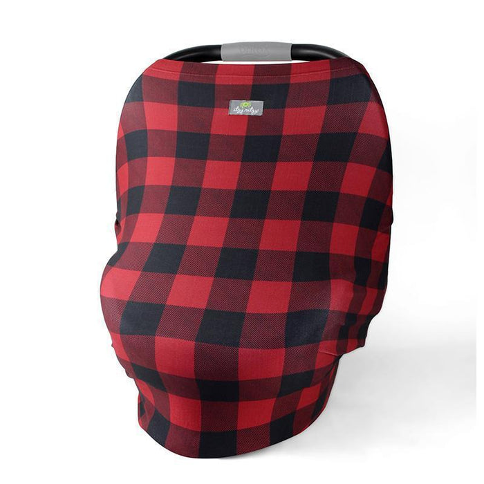 IR - Mom Boss Multi Use Cover - Buffalo Plaid