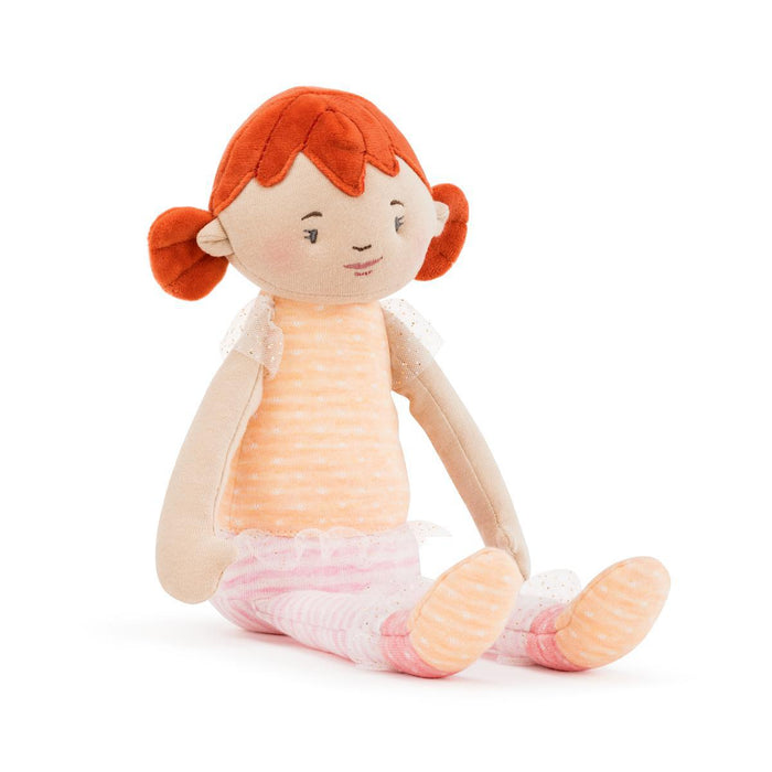 DEM - Strong Little Girl Dolls - Redhead Haired Doll