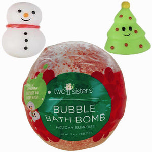 TSS - Christmas Squishy Surprise Bubble Bath Bomb