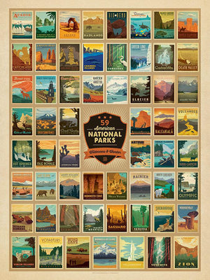 TSP - National Parks - Wilderness & Wonder Puzzle