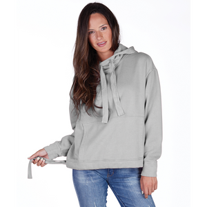 CR 5153 - Women's Laconia Hooded Sweatshirt - Light Gray