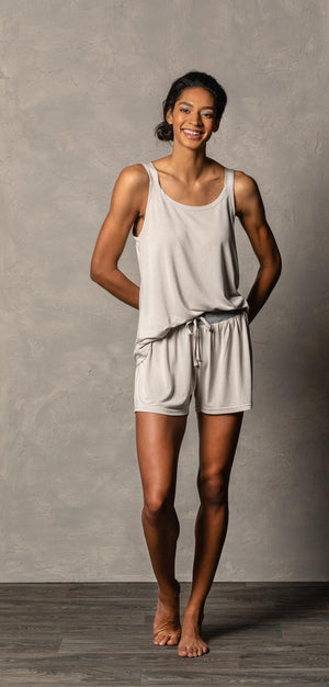 DEM - Bamboo Tank Top - Grey