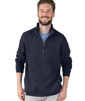 CR 9359 Crosswind Qtr Zip Sweatshirt - Navy